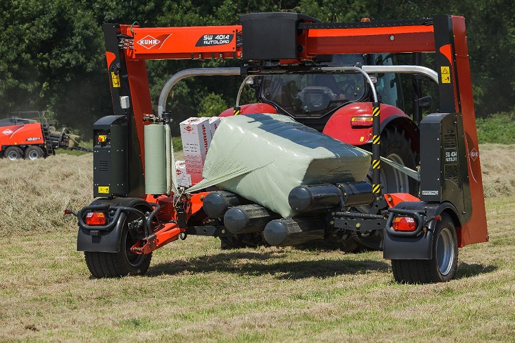 The NEW SW 4014 Bale Wrapper